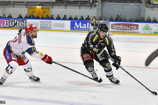 Les Dragons de Rouen battent Grenoble et s'envolent au classement