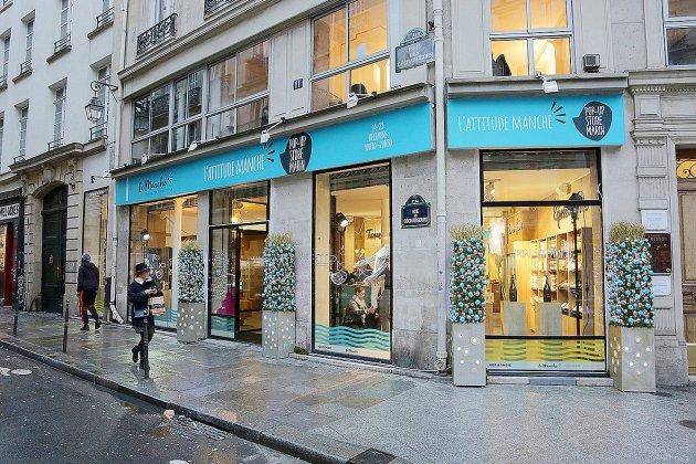 La Manche ouvre sa boutique éphémère à Paris pour 10 jours