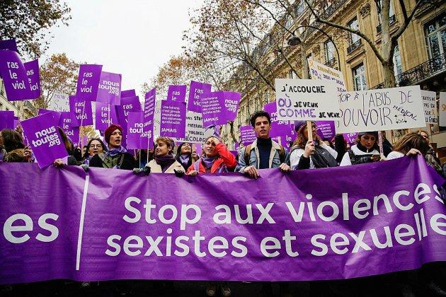 Bond du nombre de victimes de violences sexuelles en 2017