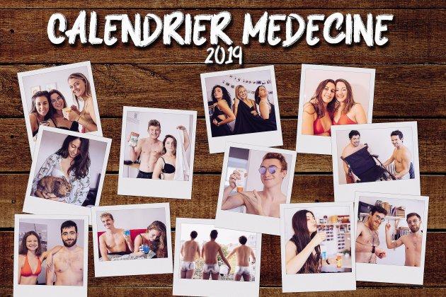 À Caen, les étudiants en médecine se dénudent pour la bonne cause!