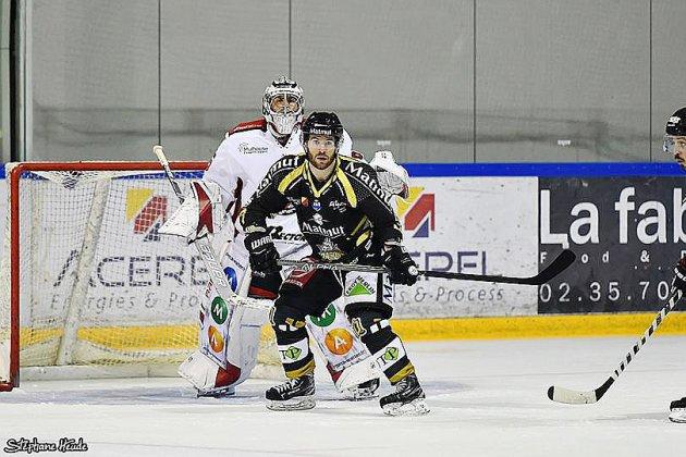Hockey sur glace : dernier déplacementavant la trêve pour les Dragons de Rouen