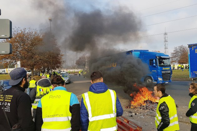 Gilets jaunes : des tensions à Tourville-la-Rivière, le point en Seine-Maritime