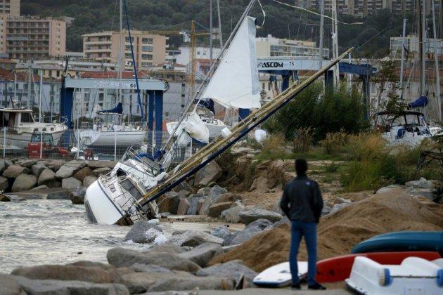 """La Corse en vigilance rouge pour """"vent violent"""""""