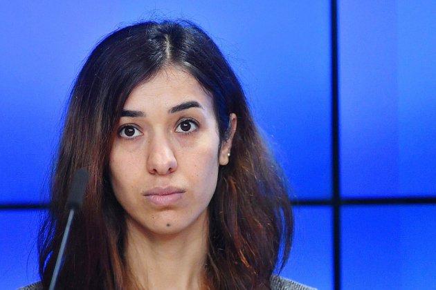 L'Irakienne Nadia Murad, de l'esclavage sexuel au Nobel de la paix