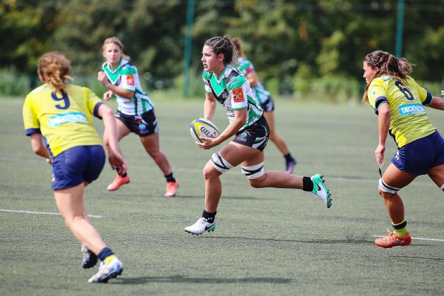 Rugby féminin (Élite): les Rouennaises gardent la tête baissée