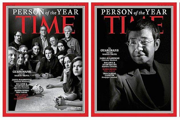 Khashoggi et d'autres journalistes personnalités de l'année pour le magazine Time