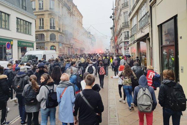 Les lycéens restent mobilisés en Seine-Maritime