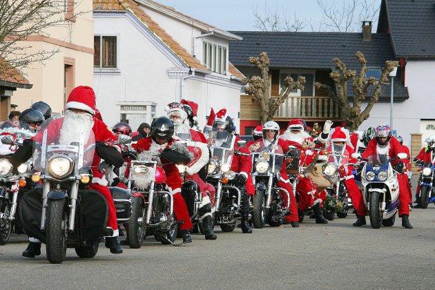 Ce samedi les motards fêtent Noël à Fécamp