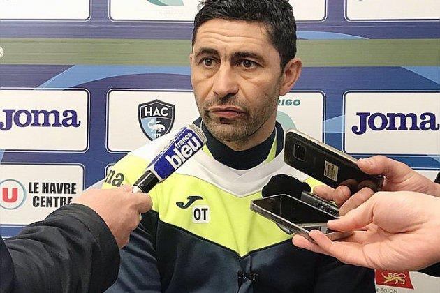 """(Football, Ligue 2): Pour Oswald Tanchot, le HAC a """"l'obligation de faire mieux"""""""
