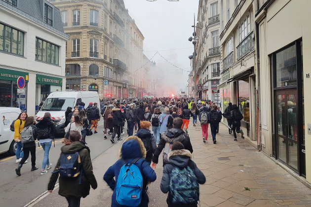 Dockers, lycéens, gilets jaunes: des manifestations en Seine-Maritime ce jeudi