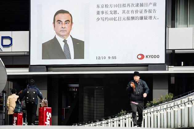 Ghosn reste PDG de Renault, qui juge conforme sa rémunération française