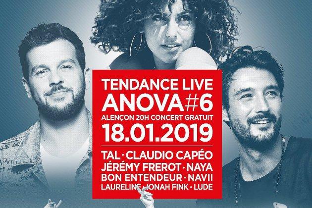 Tendance Live Alençon: les artistes dévoilés!