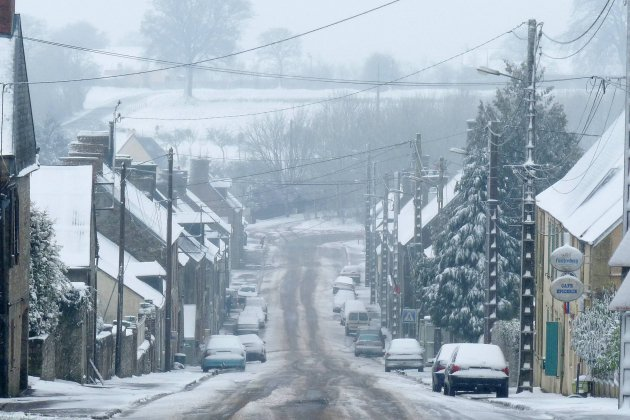 La Normandie en vigilance orange neige et verglas ce week-end