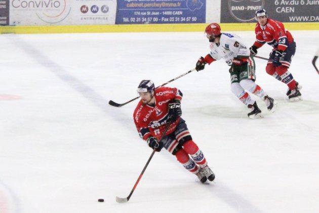 Hockey sur Glace :Caen n'a pas franchit le Mont-Blanc !