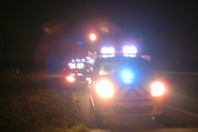 Seine-Maritime : une voiture percute un échafaudage, une femme grièvement blessée