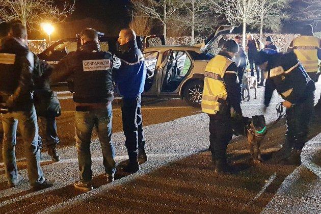 Opération nocturne: une trentaine d'infractions sur l'autoroute A28
