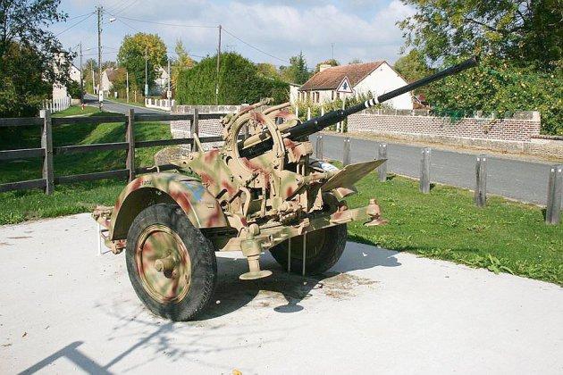 Un canon vestige de la seconde guerre mondial a été volé
