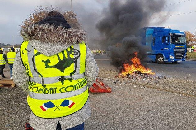 Seine-Maritime: les gilets jaunes délogés par les autorités