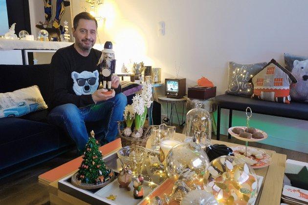 """Marc Moiroud: """"en décembre, je me vautre dans Noël"""""""