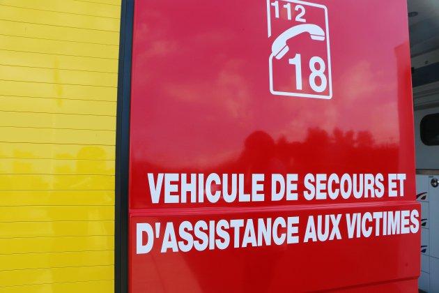 Incendie au centre GDE de Rocquancourt près de Caen
