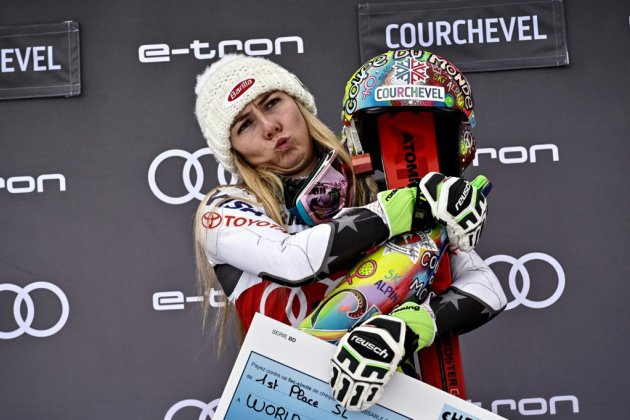 Courchevel: Shiffrin, 50 nuances de blanc