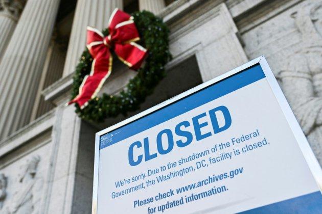"""Les Etats-Unis vivent leur deuxième jour de """"shutdown"""", qui va durer au-delà de Noël"""