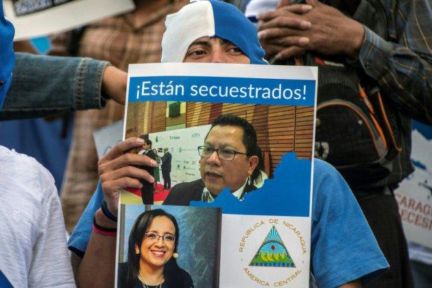"""Nicaragua : une 2e journaliste critique du régime d'Ortega accusée de """"terrorisme"""""""