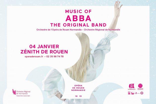 Music of ABBA au zénith de Rouen ce 4 Janvier 2019