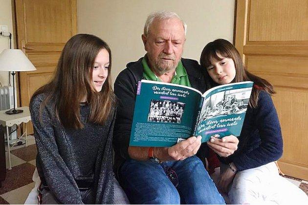 Des élèves normands racontent leur école : cahier-journal d'après-guerre