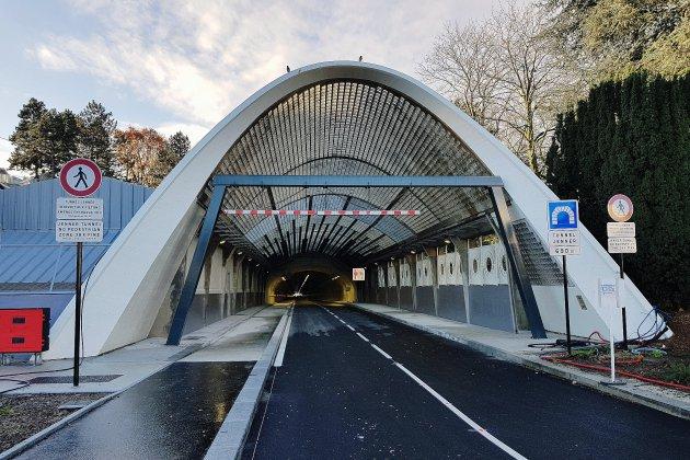 Tunnel Jenner du Havre: les piétons font le forcing