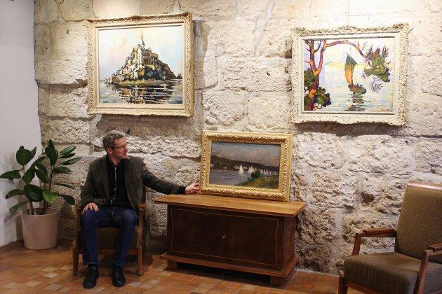 Peintures d'eau à découvrir à la galerie Bertran à Rouen