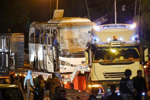 """Quarante """"terroristes"""" tués en Egypte après une attaque contre des touristes"""