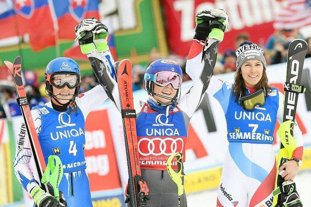 Mikaela Shiffrin, à Semmering,  remet les points sur les skis