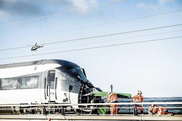 Un accident de train fait six morts au Danemark
