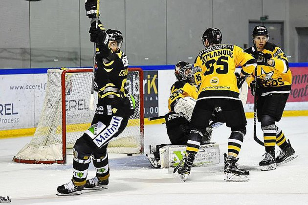 Hockey sur glace (Magnus) : Rouen bat Strasbourg et attend Angers !