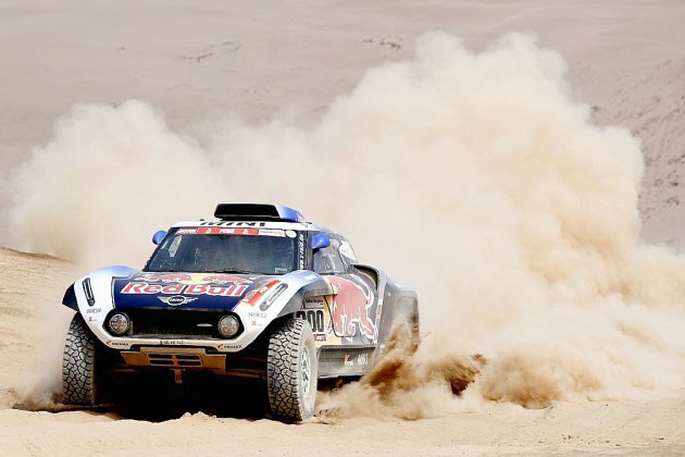 Dakar: la quinzaine du sable