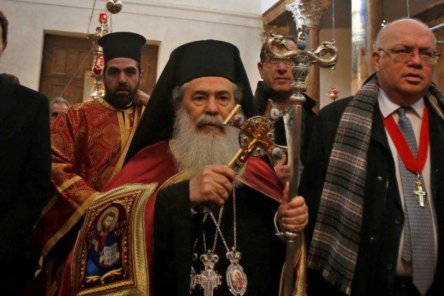 Les chrétiens orthodoxes célèbrent Noël à Bethléem