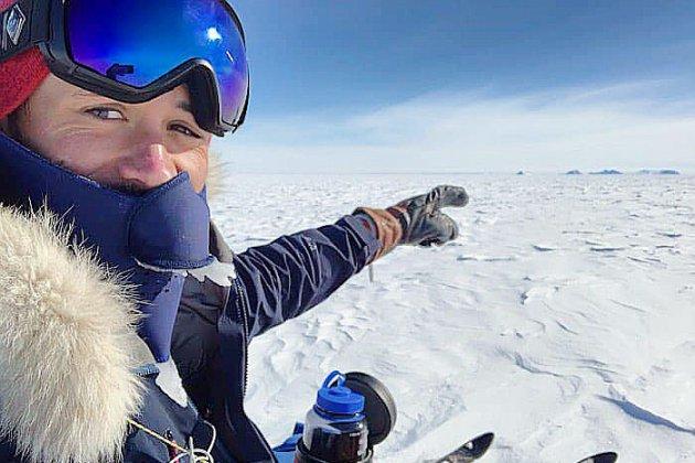 L'explorateur normand Matthieu Tordeur se rapproche du Pôle Sud