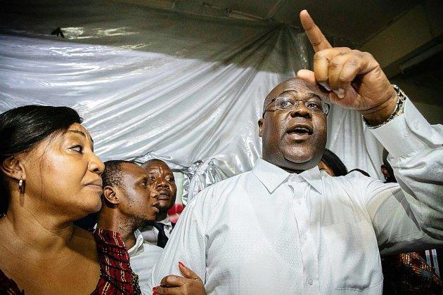 RDC: l'opposant Tshisekedi proclamé vainqueur, contestations immédiates
