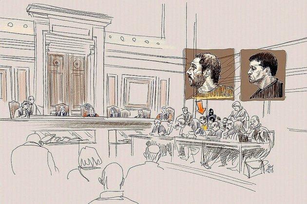 """Musée juif de Bruxelles: Nemmouche face à ses juges pour """"assassinats terroristes"""""""