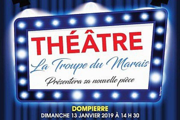 """La Troupe du Marais de retour avec une nouvelle pièce de théâtre intitulée """"Vengeance avec préméditation"""""""