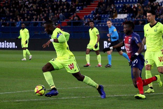 Football (Ligue 1) : Caen logiquement puni par Lille