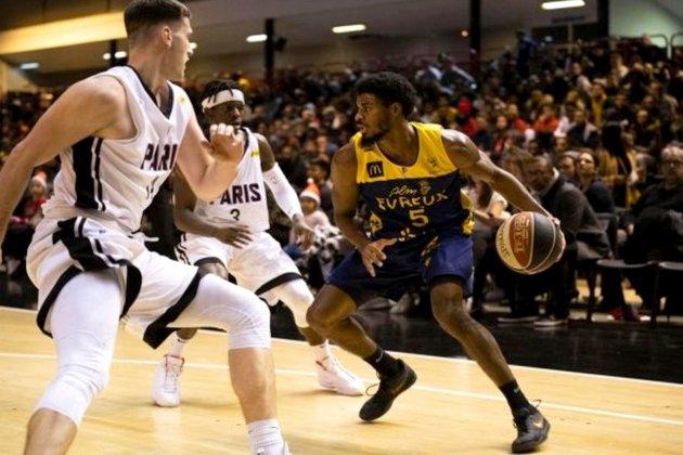 Basket (Pro B): l'ALM Evreux battu à domicile par Saint-Chamond
