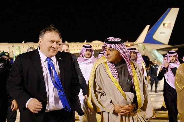 """Pompeo en Arabie saoudite pour avoir """"tous les faits"""" de l'affaire Khashoggi"""