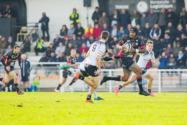 Rugby (Fédérale 1): les Rouennais restent intraitables