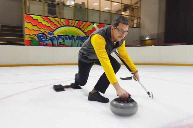 Au Rouen olympic club, David Détaille s'est pris d'amour pour le curling