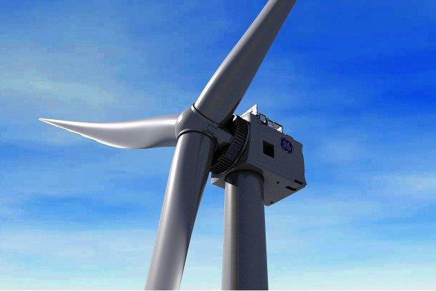 Espérée à Cherbourg, la plus grande éolienne du monde s'envole à Rotterdam