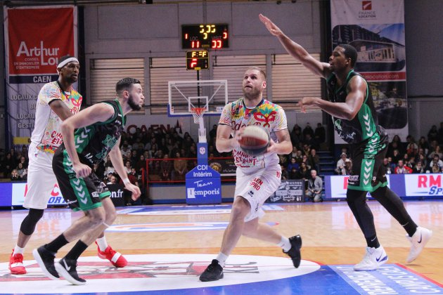 Basket (Pro B) : Caen ne confirme pas et s'incline face à Gries