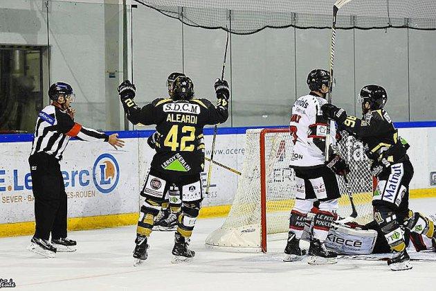 Hockey sur glace (Magnus) :cinglante revanche pour Rouen devant Amiens !