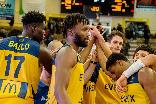 Basket (Pro B) :une défaite et un nouveau joueur pour Evreux !